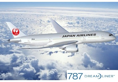 Japan Airline 787
