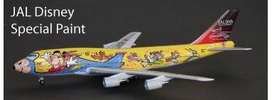 JAL Disney B747